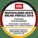 n-tv hat getestet: BestFewo gehört zu den Besten Online-Portalen 2018